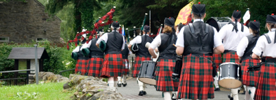 Picture: Bagpipe Band