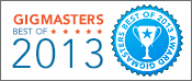 GigMasters Best of 2013 Winner